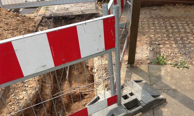 Barrière amovible de chantier