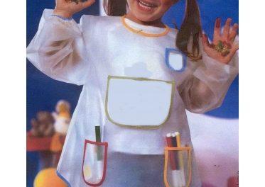 Protégez les vêtements de votre enfant avec le tablier peinture enfant !