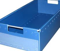 Pour stocker vos produits de manière organisée, pensez au bac sur mesure chez Facdem Equipement !