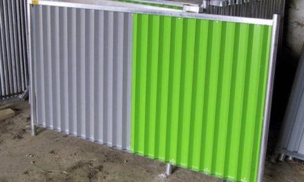 La clôture est très pratique !