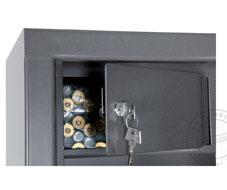 Sécurité maximale avec l'armoire forte !