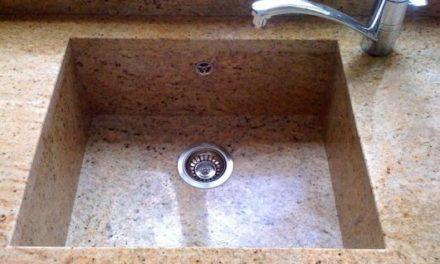 Evier de cuisine en granit