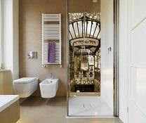 Le panneau de douche, une touche déco !
