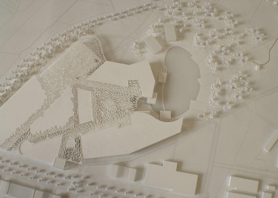 La maquette architecture