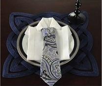 Le pliage de serviette indispensable à un mariage !