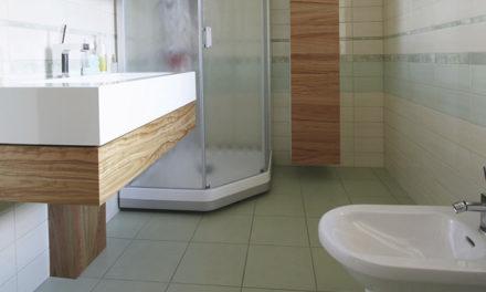 Les matériaux d'une colonne de douche