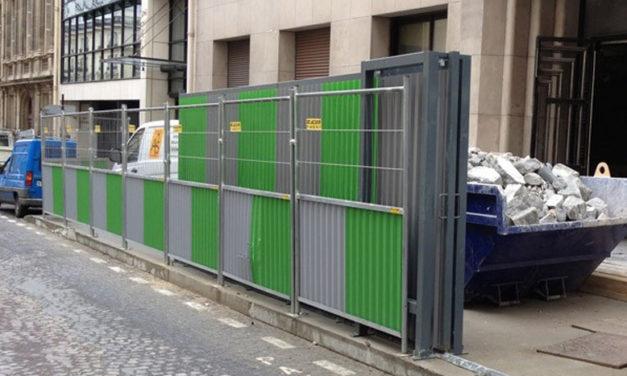 Les utilisations de la barrière sécurité chantier