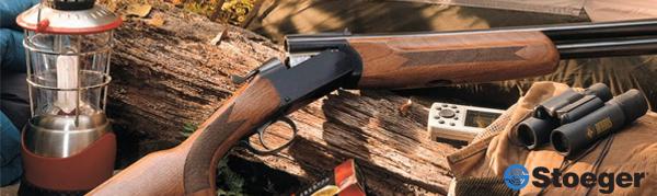 Carabine a plomb Stoeger et autres accessoires de la marque américaine.
