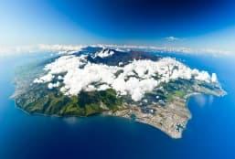 Balade à moto aux quatre coins de La Réunion