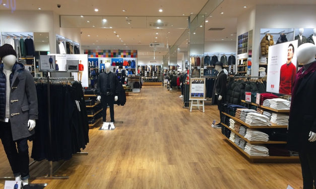 L'aménagement d'une boutique de vêtements