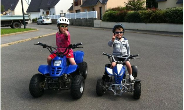 Quel quad choisir pour votre enfant et ado ?