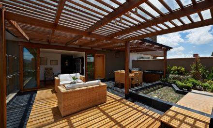 Une terrasse ensoleillée et fraîche, c'est possible!