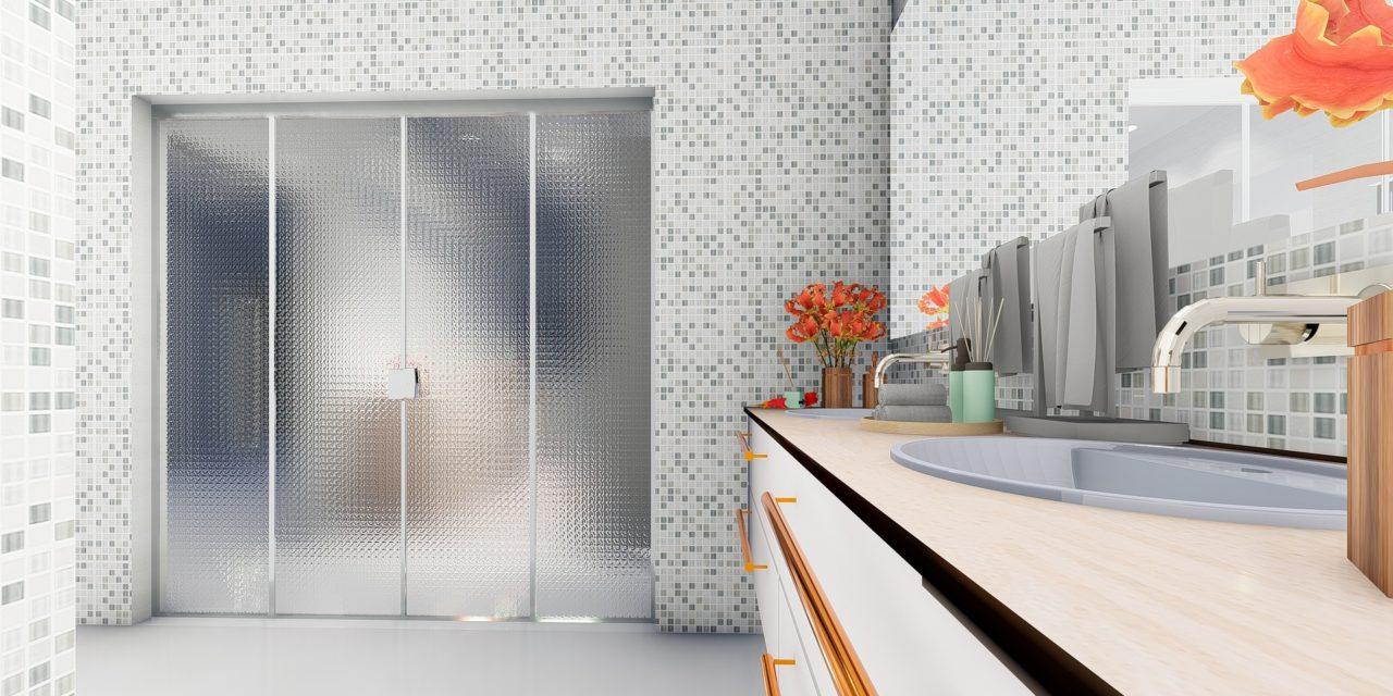 La mosaïque salle de bain