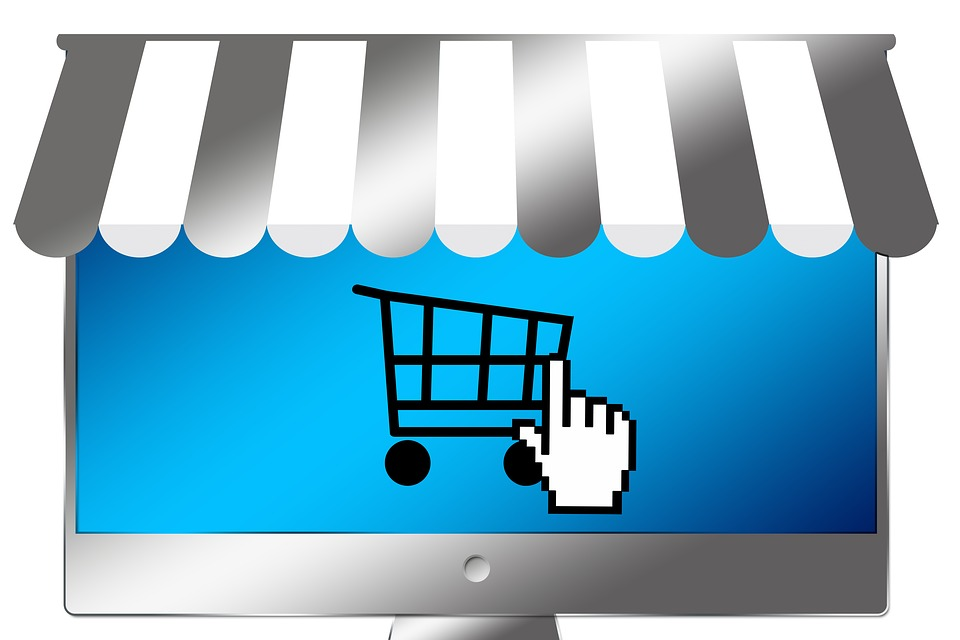 pictogramme magasin online
